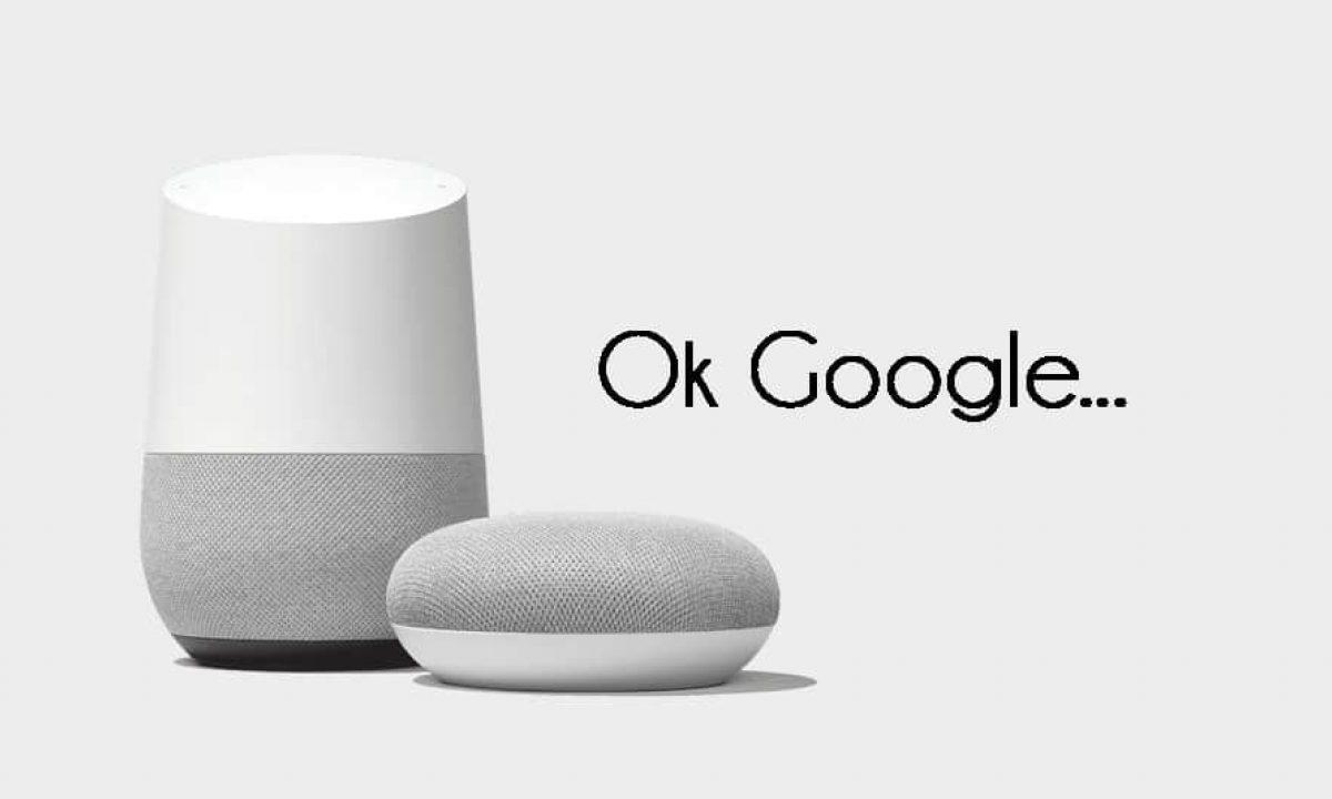 Commandes vocales TV via Google Home